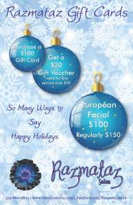 Holiday Gift Card poster