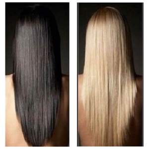 From Dark to Blonde with Olaplex without damage!
