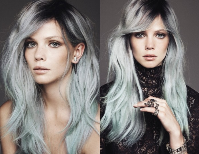 gray hair is the new blonde 2015 hair color and hairstyle trends